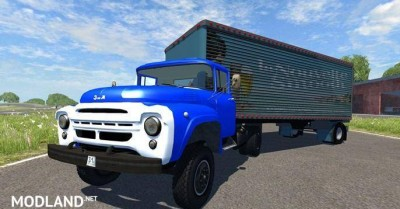 Zil-V with Semi la Nouvelle Smooth Truck [0.7.0], 1 photo